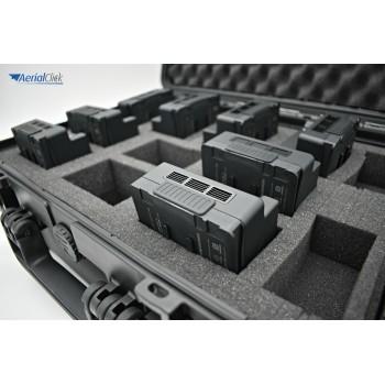 8 batterie DJI con valigetta