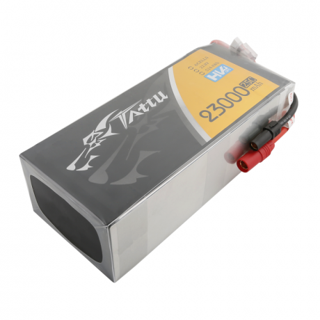 TATTU Lipo Battery - 23000mAh 22.8V 25C 6S1P